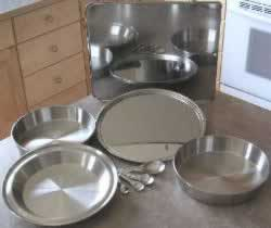 stainless steel bakeware